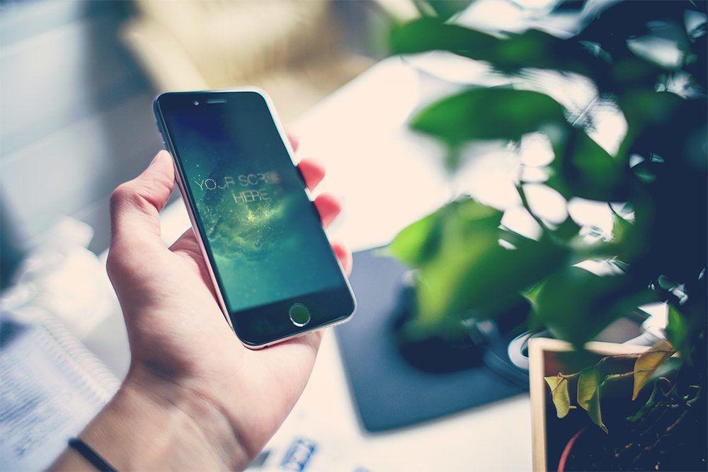 iPhone 6 free mockup