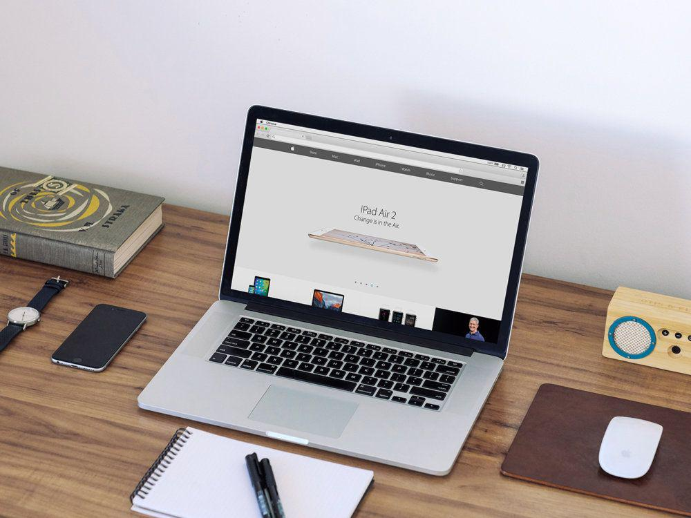 MacBook-PSD-mockup