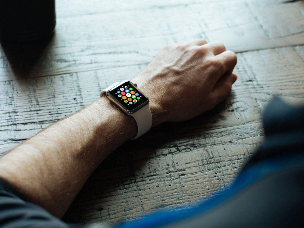 Free Apple Watch Mockups