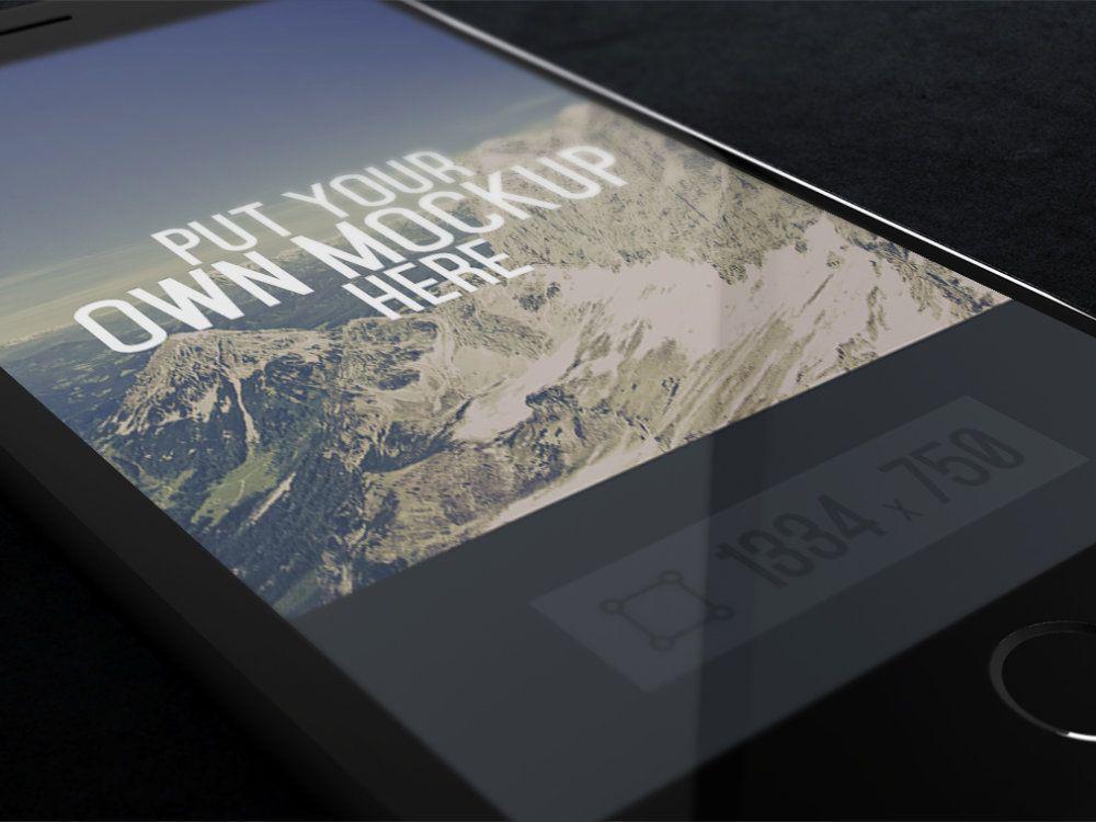 iPhone-Screen-PSD-mockup