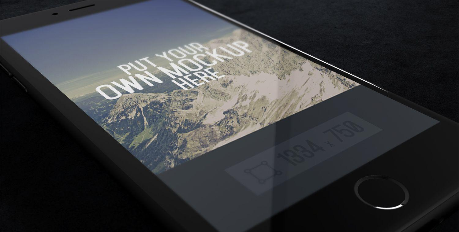 iPhone-Screen-PSD-mockup
