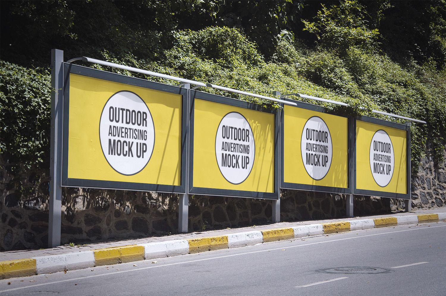 outdoor advertising Highway maintenance outdoor advertising signs on-property signs off-property signs official signs service club and religious.