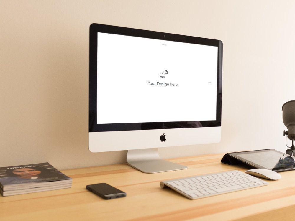 iMac-free-Mockup