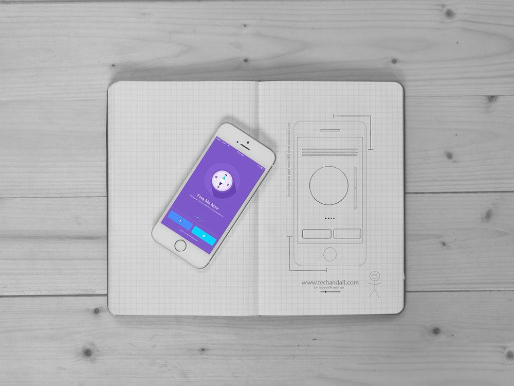 iOS-App-Showcase-Mockup-PSD