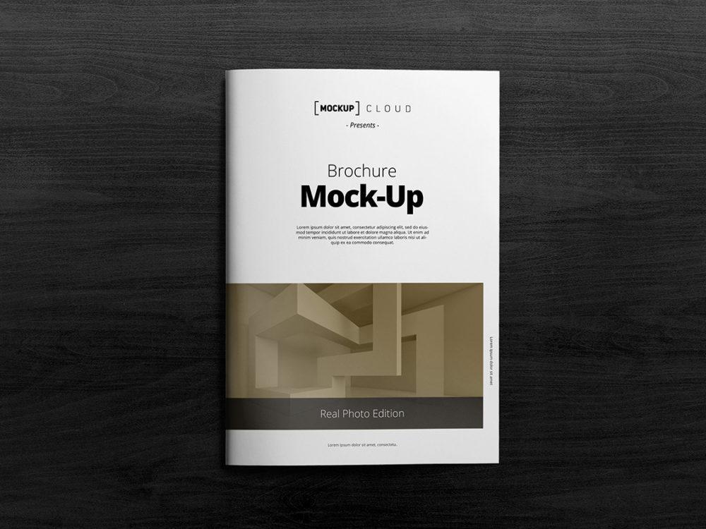 A4 Brochure Mockups