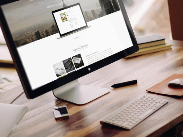 Apple iMac Mock-Up