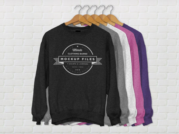 Jumper MockUp PSD full