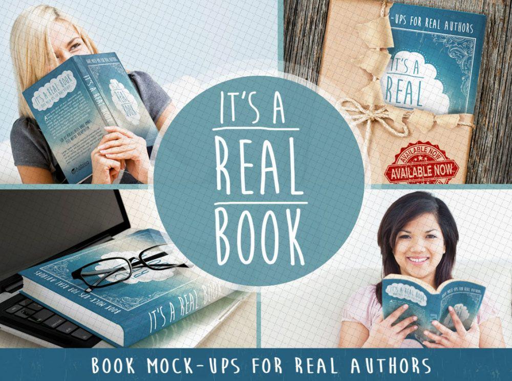 Real Book Mockup