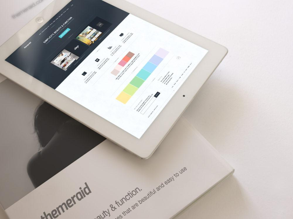 iPad and Magazine Mockup
