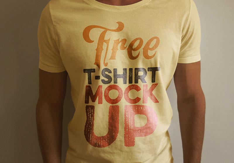 T-Shirt (front view) Mockup