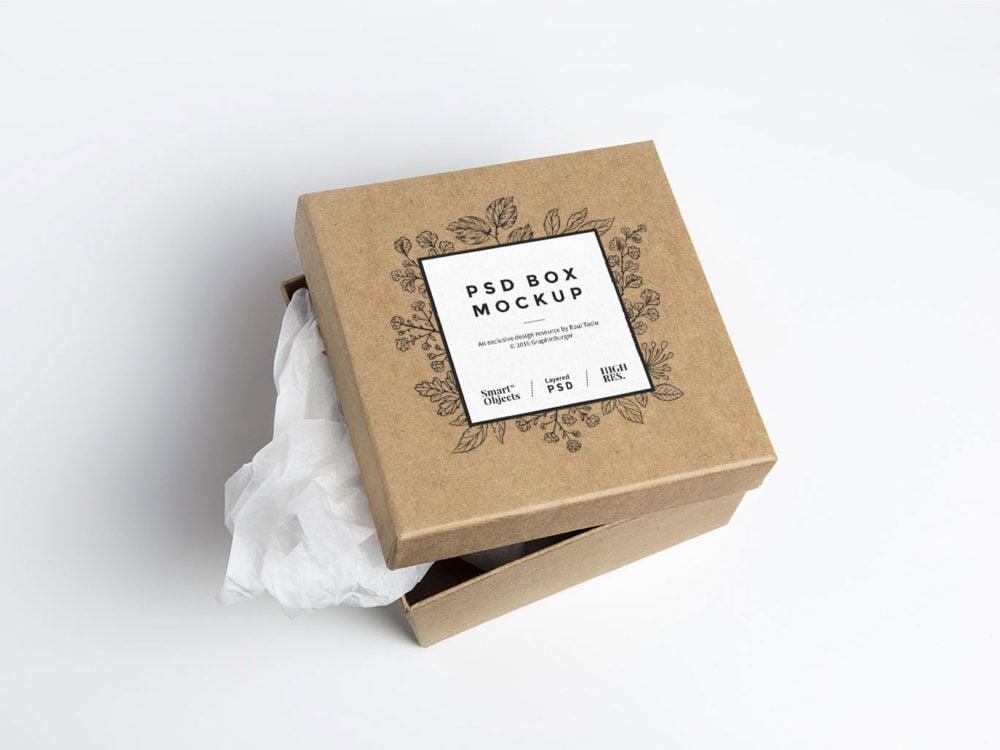Cardboard-Box-PSD-Mockup