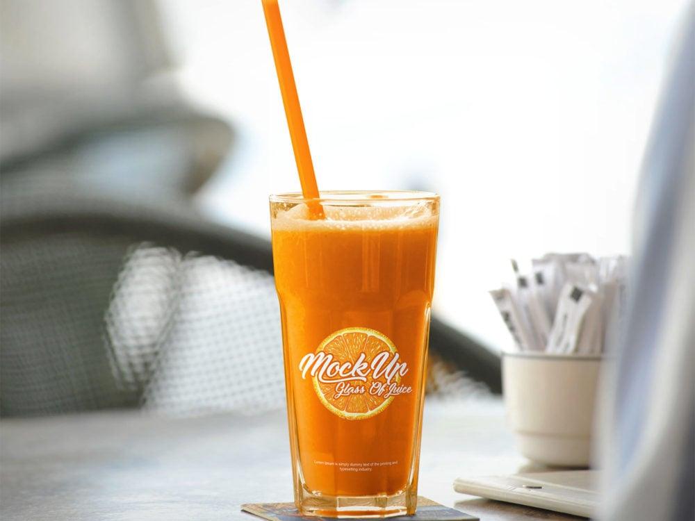 Glass-Of-Juice-Free-Mockup