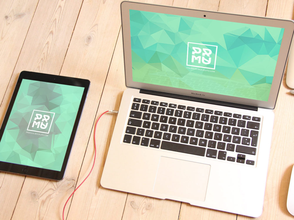 MacBook-iPad-iPhone-Free-Mockup-Set