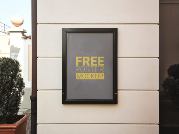 free-poster-mockup