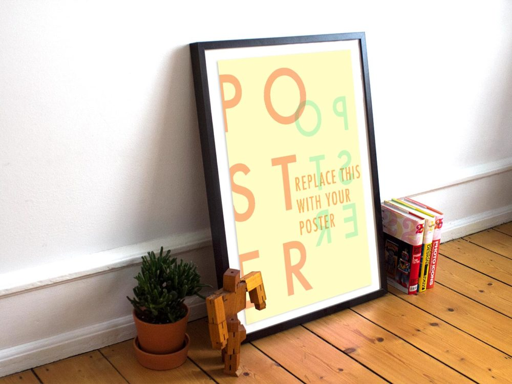 Poster-Frame-Free-PSD-Mockup