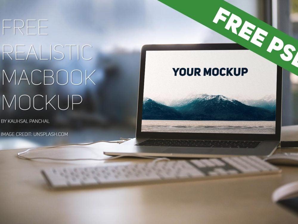 Realistic-Macbook-Free-PSD-Mockup