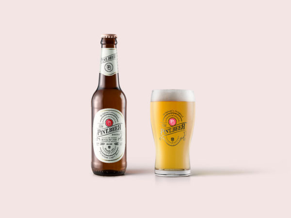 Bottle-and-Glass-of-Beer-Free-Mockup-