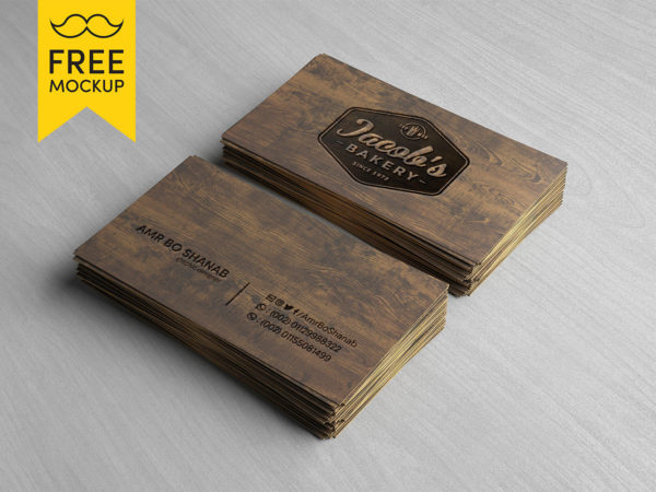 Wooden-Business-Card-Free-PSD-Mockup