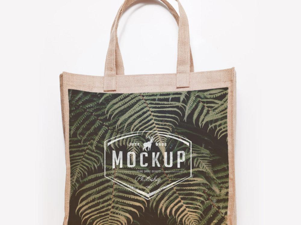 3 Bags Free PSD Mockup