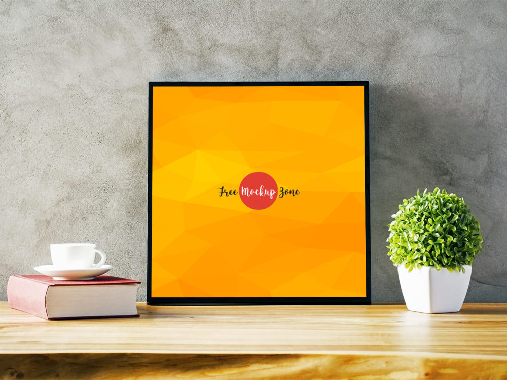 Photo Frame Free PSD Mockup