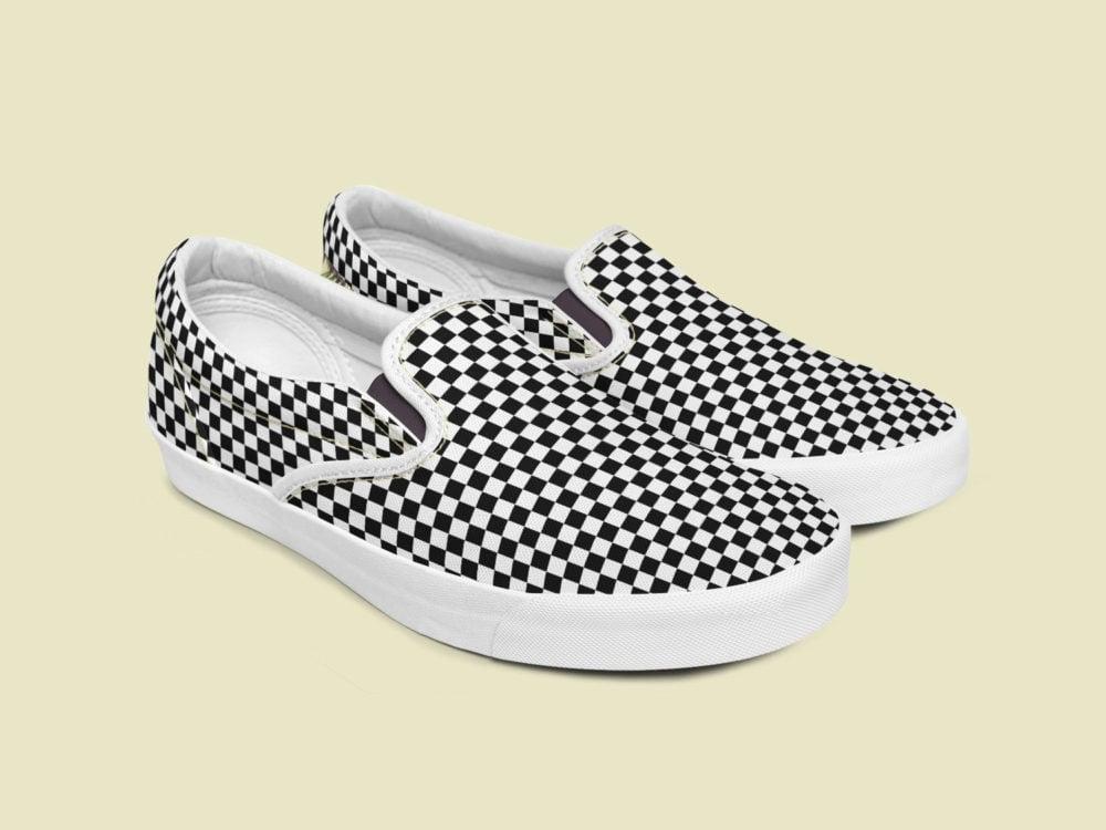Slip-on Shoes Free Mockup Set