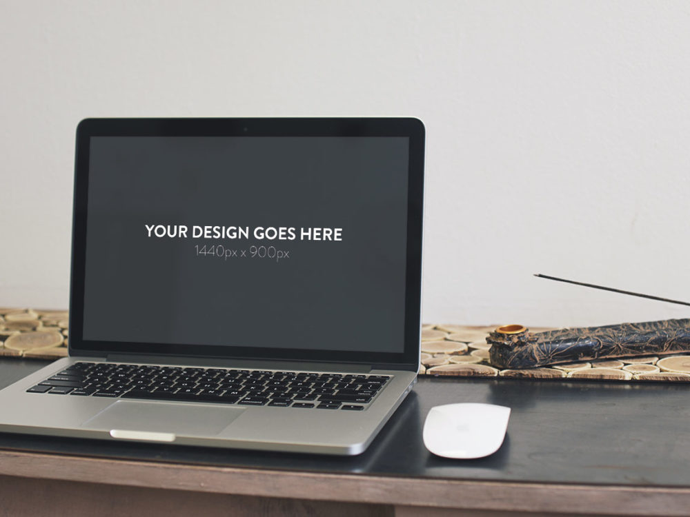 3 MacBook Pro Free Mockups