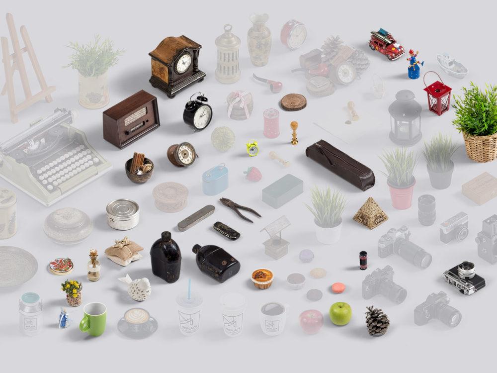 Art Scene generator mockup kit