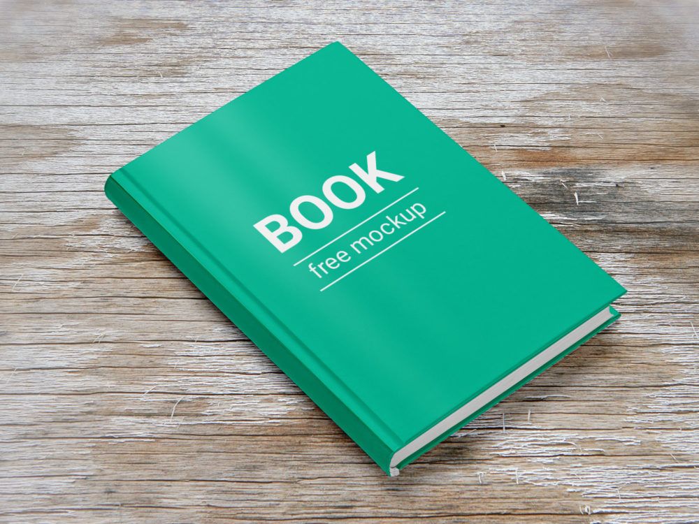 Hardback Book Free Mockup