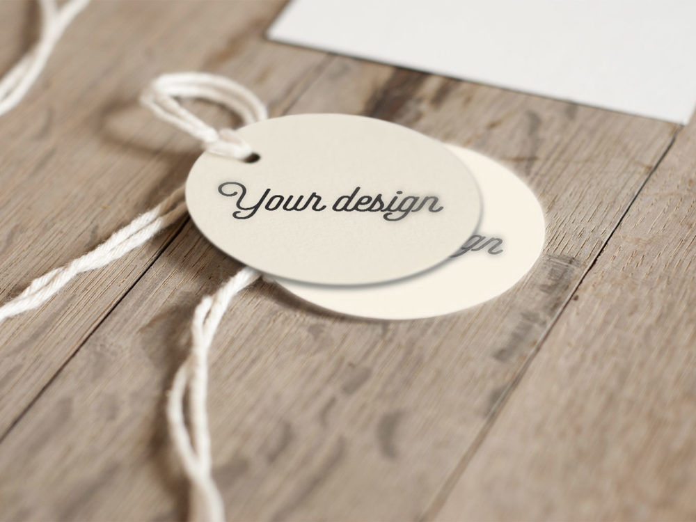 Label Mockup Freebie