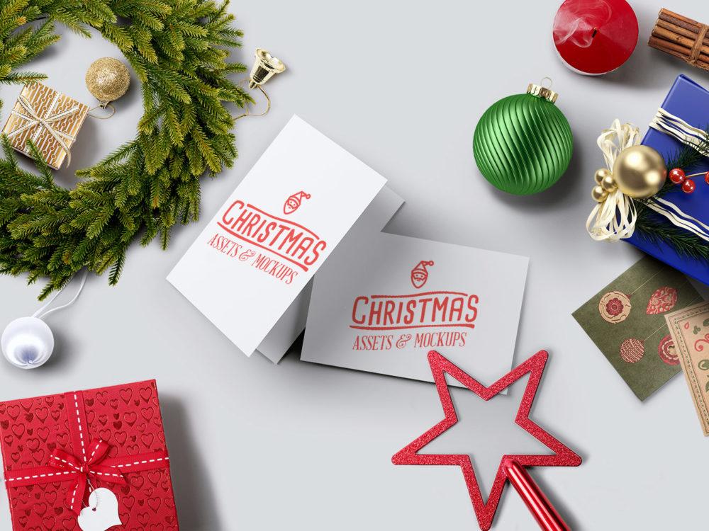 Christmas Mockup Pack Free Demo