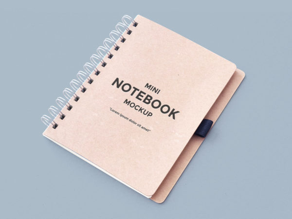 Notebook Free Mockup