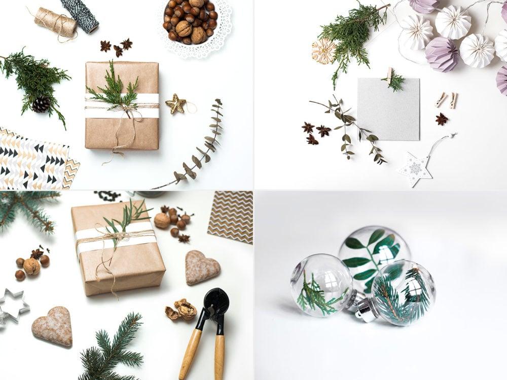 Free Christmas Assets Mockup Pack