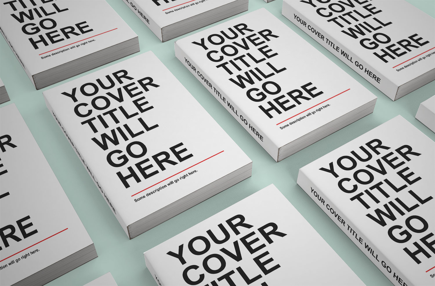 Free Book Mockups PSD Download
