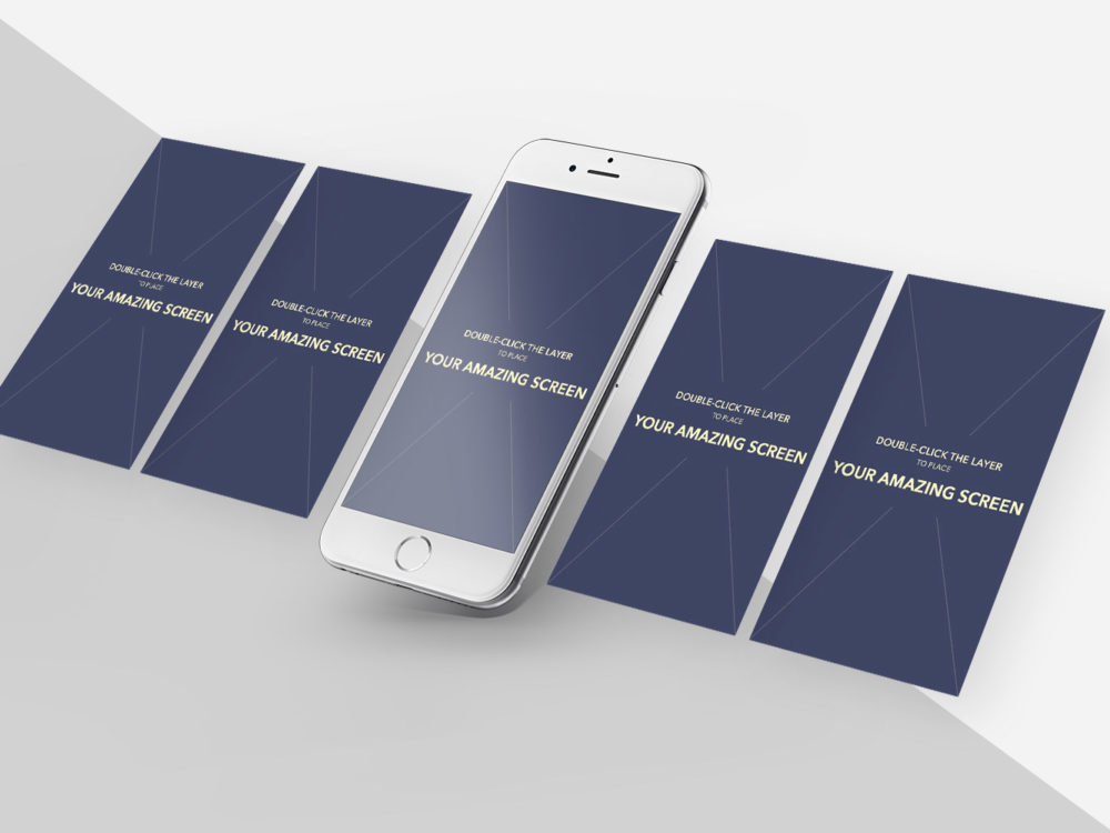 Free iPhone 6S Plus Mockup