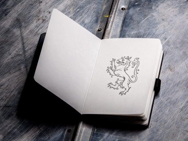 Mock-Up Free Sketch book