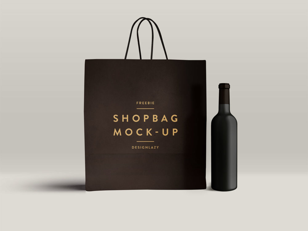 shopping bag free mockup psd free mockup