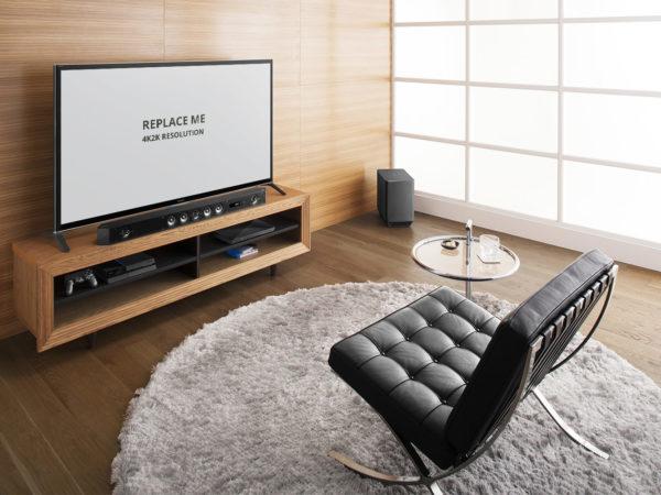 Sony TV Free PSD Mockup