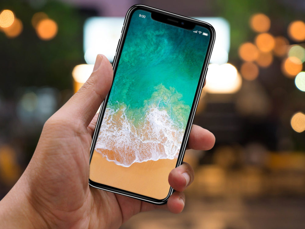 iPhone X PSD Free Mockup