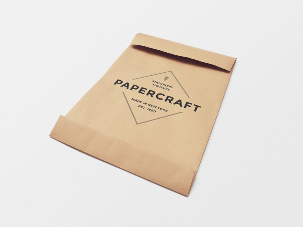 Big Paper Envelope Mockup