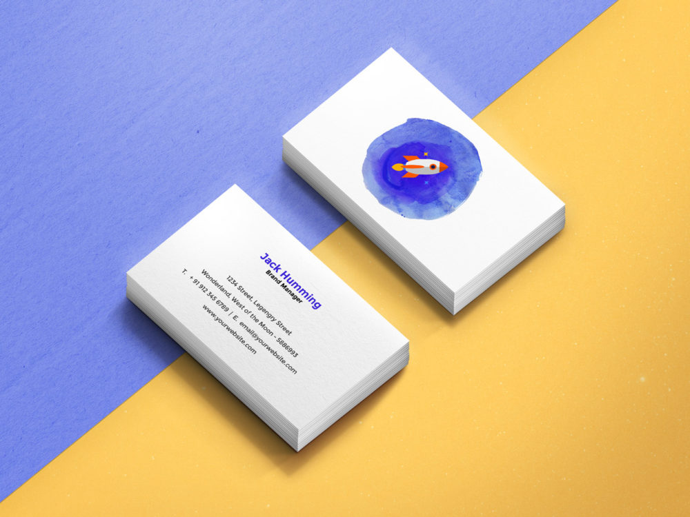 Business card mockup template free mockup business card mockup template reheart Choice Image