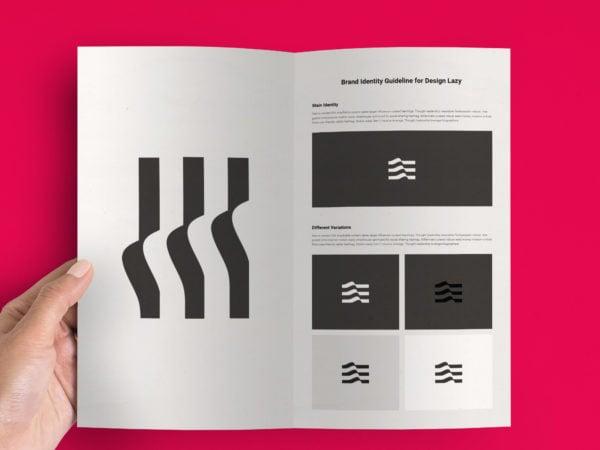 Print Design Presentation PSD Mockup
