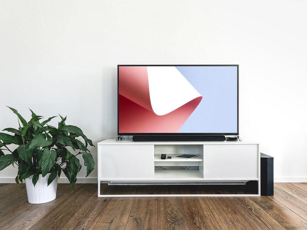Free PSD TV Mockup