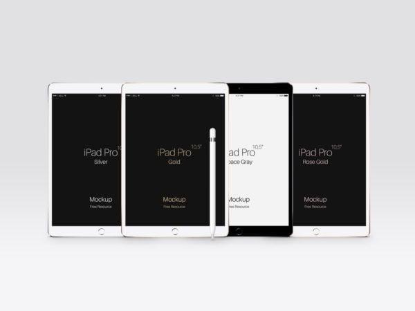 Free PSD iPad Pro 10.5 Mockup