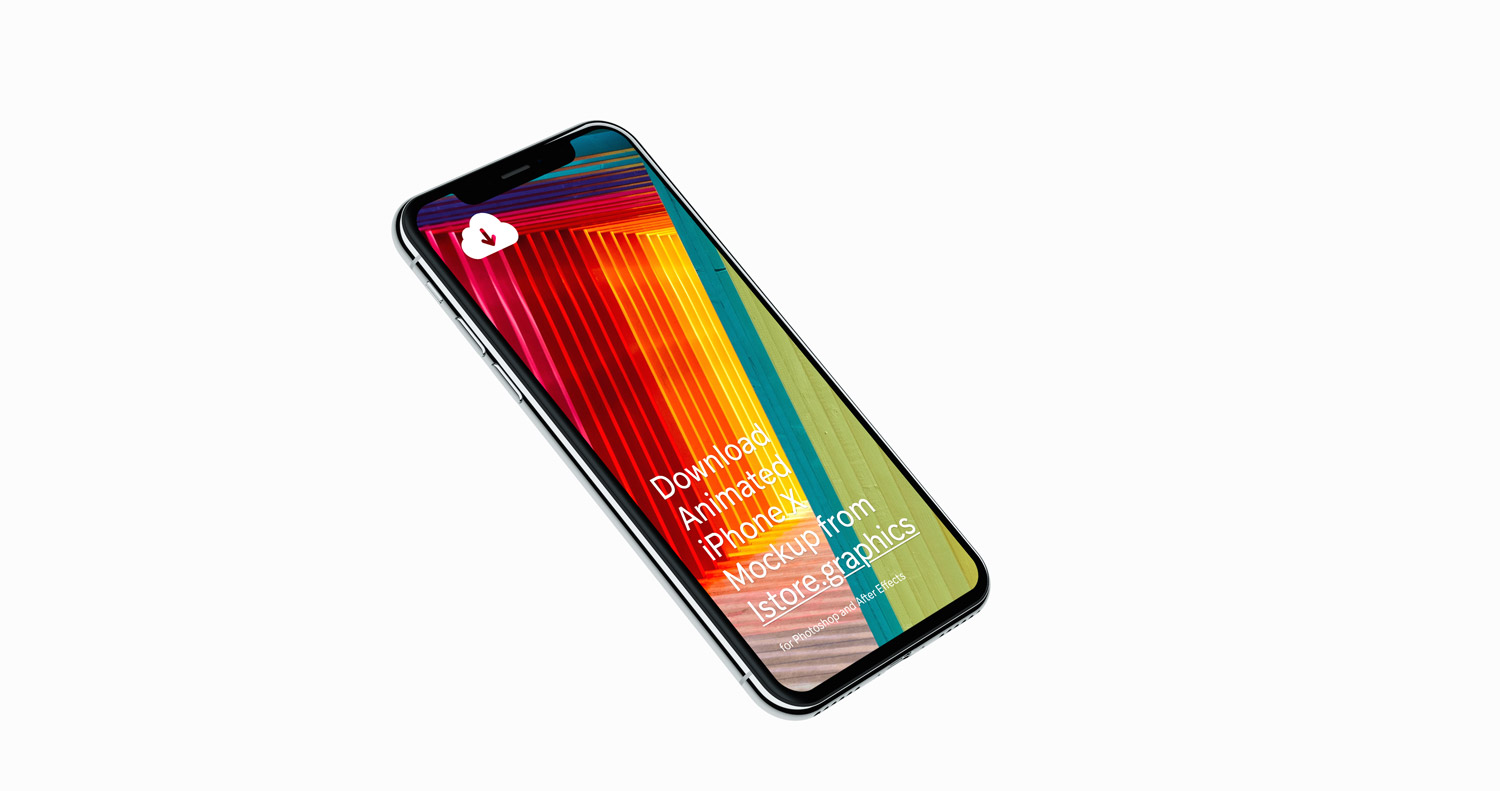 High Resolution iPhone X Mockup
