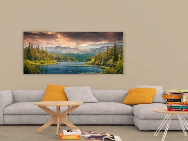 Living Room Frame Mockup
