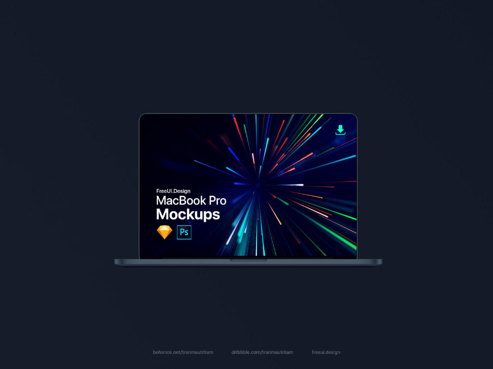 New MacBook Pro Mockup 2018