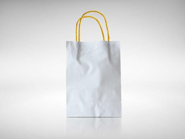 Paper Bag Mockup Free PSD