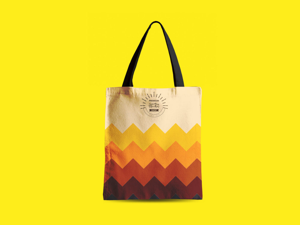 Tote Bag Mock Up Free PSD