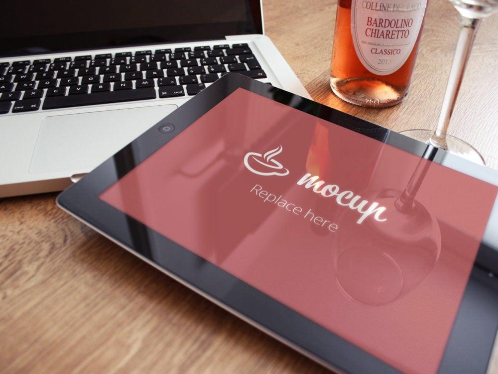 iPad Free PSD Mockup