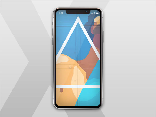 iPhone X Freebie Mock Up PSD